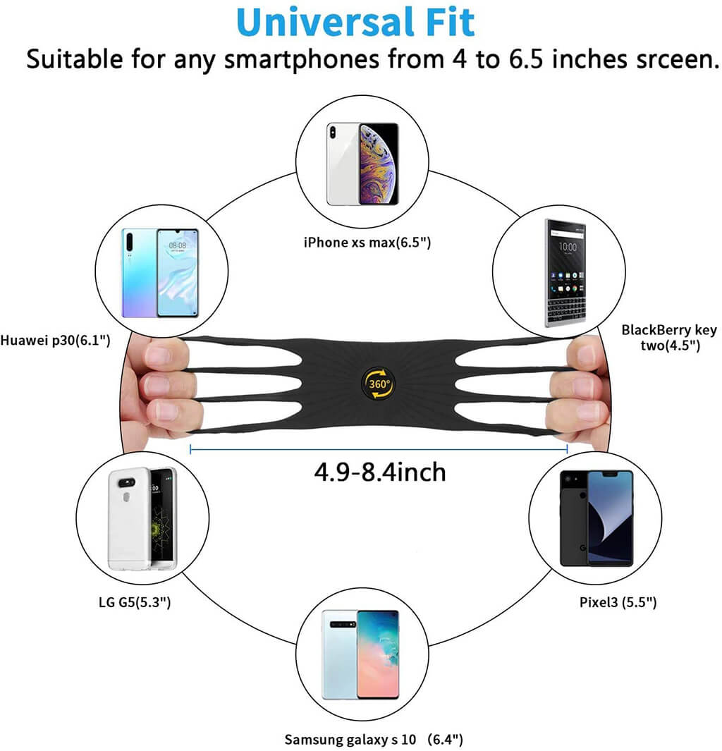 Ampere Mobile Phone Holder Specifications