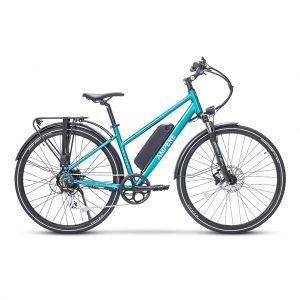 ampere Tourer-S teal hybrid e-bike