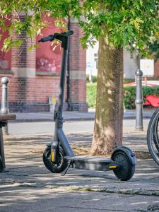 Standalone Ampere Go Electric Scooter