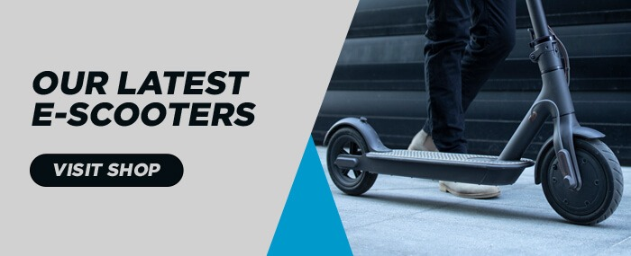 Our Latest E-Scooters Banner