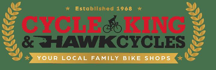 Cycle King and Hawk Cycles Logo