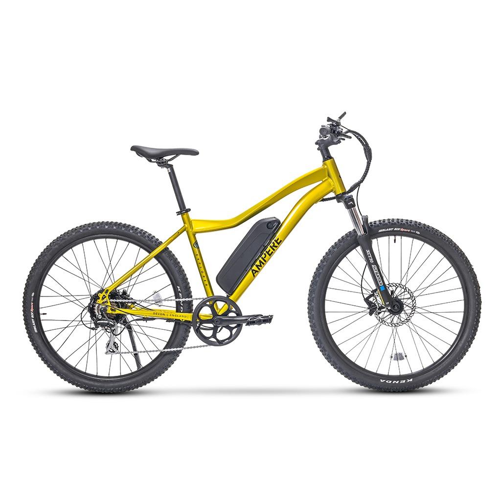 ampere explorer yellow mountain e-bike