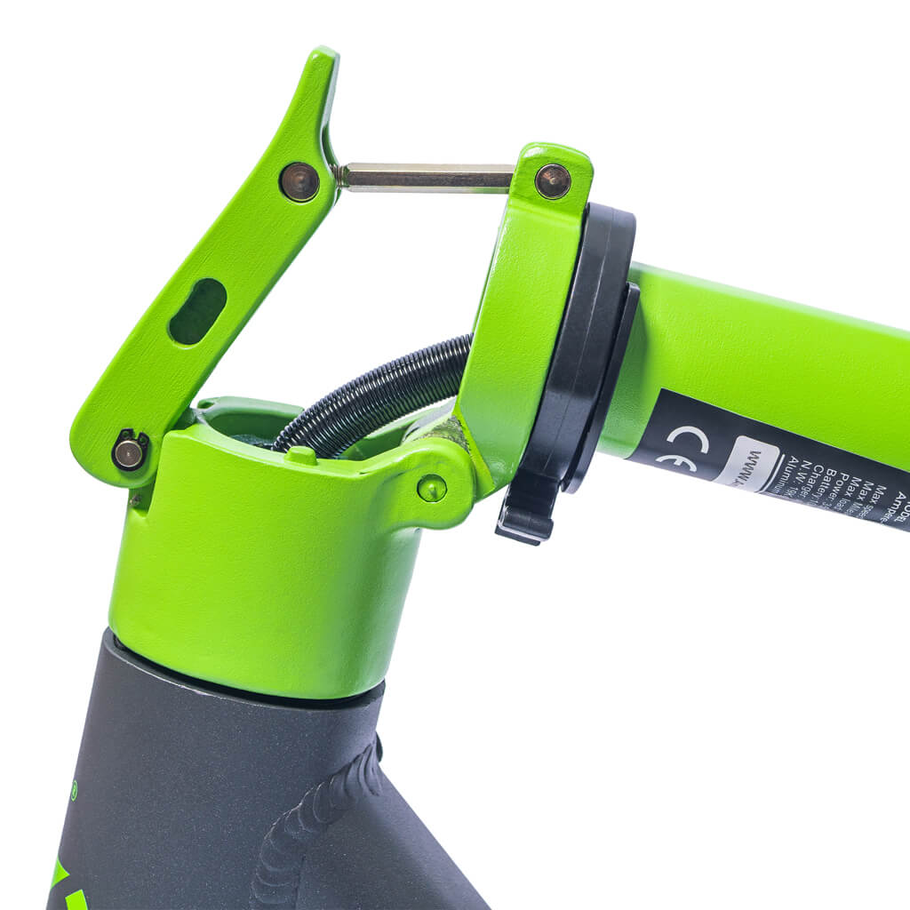 ampere go electric scooter green